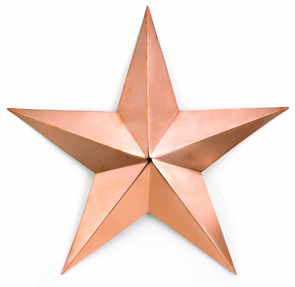 Copper Barn Star