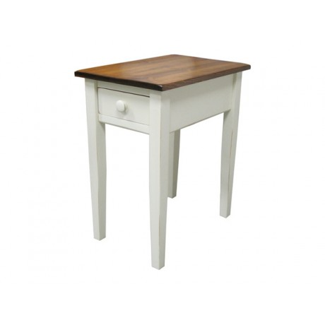 Country Side Table with Drawer