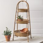3-Tier Metal Basket