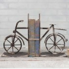Bicycle Cast Iron Bookends - Pair - Ready to Ship