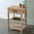 Cane Side Table - Ready to Ship
