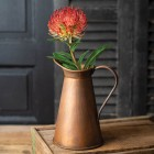 Copper Finish Pitcher