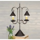 Double Table Lamp With Hanging Shades - Ready to Ship