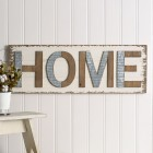 Home Wooden Wall Sign