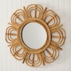 Juniper Rattan Wall Mirror