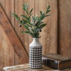 Lattice Metal Vase