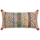 Sophia Hand Woven Lumbar Pillow (Filler Included)