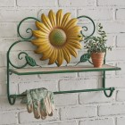 Sunflower Wall Shelf