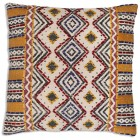 Suzani Hand Woven Throw Pillow (Filler Included)