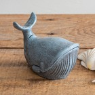 Whale Cast Iron Trinket Holder