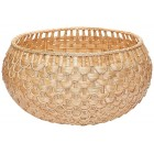 Fish Scale Wicker Bowl