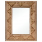 Medium Cabana Rattan Wall Mirror
