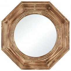 Dark Oak Wall Mirror