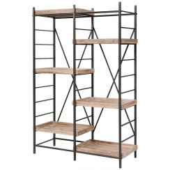 Lake House Staggered Shelving Unit - Ready to Ship