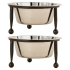 Steadson Small Pet Feeders - Pair