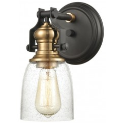 Seeded Glass Chadwick Wall Sconce