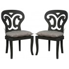Artifacts Side Chairs with Cushions - Pair - Ready to Ship