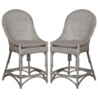 Catskill Counter Stools With Cushions - Pair
