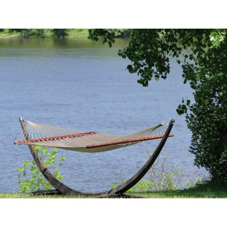 wicker hammock stand   quick ship hammock stand   quick ship  rh   relaxedcottageliving
