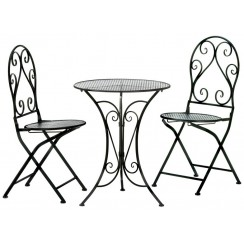 French Country 3-Piece Bistro Dining Set - Ready to Ship
