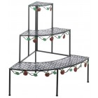 Corner Apple Harvest Plant Stand - Ready to Ship