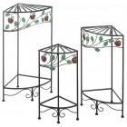Apple Harvest Plant Stands - Set of 3 - Ready to Ship