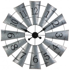 Windmill Over-Sized Wall Clock