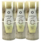 Coconut Water Scented Candles - Set of 3