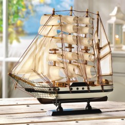 Passat Wooden Model Ship