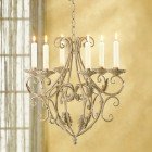 Old World Candle Chandelier