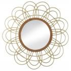 Del Mar Rattan Wall Mirror