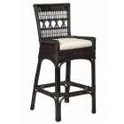 Loggia Bar Stool With Cushion - Custom Made
