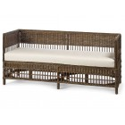Vineyard Wicker Daybed With Cushion - Custom Made