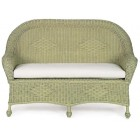 Eastern Shore Settee With Cushion - Custom Made
