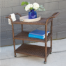 Sausalito Bar Cart - Rectangular - Custom Made