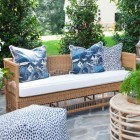 Vineyard Outdoor Daybed With Cushion - Custom Made
