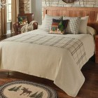 Fieldstone Solid 3-Piece Bedding Set