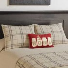 Fieldstone Plaid Cotton Pillow Shams - Pair