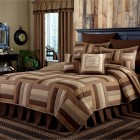 Shades of Brown 3-Piece Quilt Set