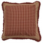 Sturbridge Patch Checkered Euro Pillow Sham