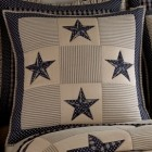 Sturbridge Patch Star Euro Pillow Sham