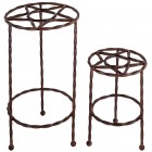 Tejas Plant Stands - Set of 2 - Ready to Ship