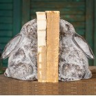Rabbit Cast Iron Bookends - Pair - Ready to Ship
