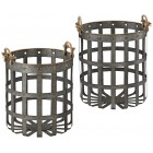 Caxton Baskets - Set of 2 - Ready to Ship