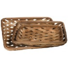 Mansfield Tobacco Baskets - Set of 3